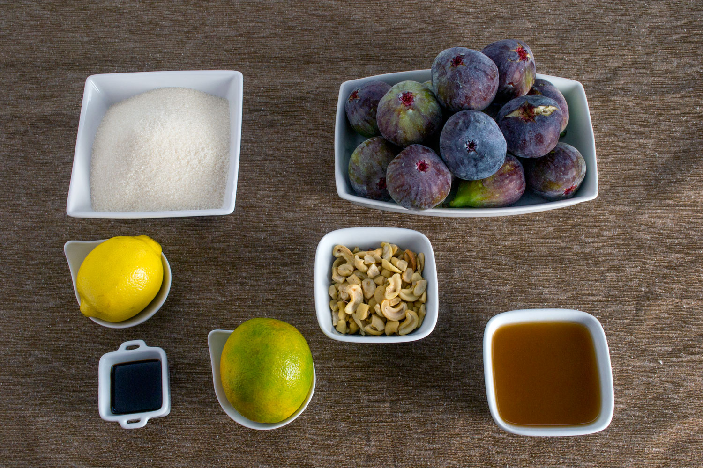 Ingredientes Geleia de Figos