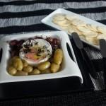 Queijo Camembert com uvas