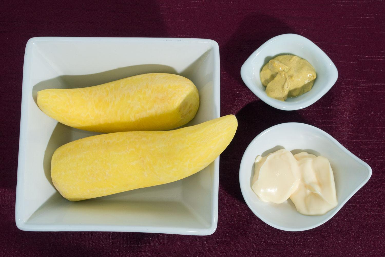 Ingredientes Purê de Mandioquinha
