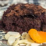 Brownie de Chocolate com Damascos